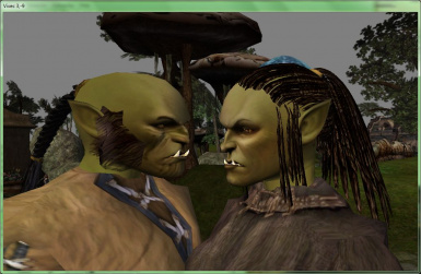 Galleo_RBMcK_Orc_v1.2 MacKom Head and hair on the bodies of Robert. Orcs