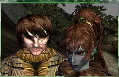 Galleo_Mel_Hair_for_McK_Head_1.0 Hair by Mel for models of heads from MacKom for all races except Khajiit and Argonians