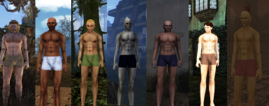 Non-nude BB Replacer for MacKom's Races Redone