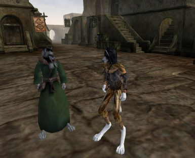 Qaws Race Pack-Morrowind Edition