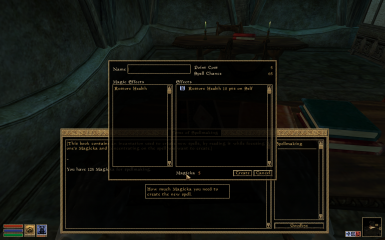 Tome of Spellmaking Improved at Morrowind Nexus - mods and