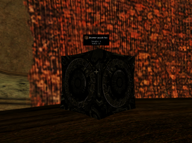 Texture replacer for vanilla dwemer puzzle box