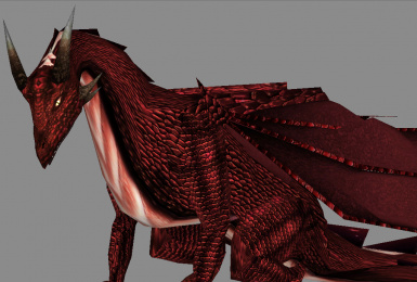 Reign of Fire dragon texture replacer