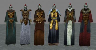 Armored Robes Compilation and NPC changes