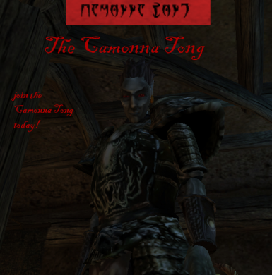 Join the Camonna Tong - Camonna Tong Faction Mod