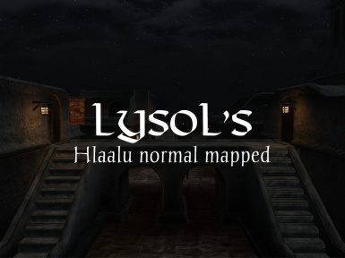 Hlaalu Normal Mapped for OpenMW