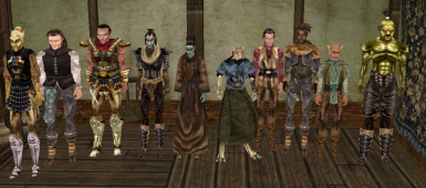 Heights of Vvardenfell - Lorefriendly races