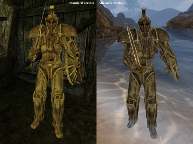 New Dwemer Armor - Bright Textures