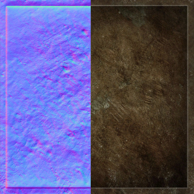 Vivec and Velothi Retexture (Normal Maps)