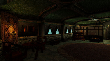 The Mournhold interiors