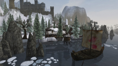 Solstheim Tomb of the Snow Prince - White Wolf of Lokken Compatibility