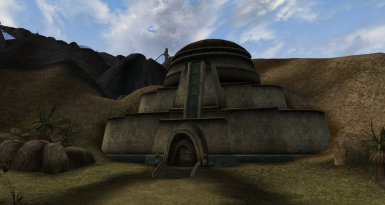 Nil-Ruhn Velothi-Style house mod for Morrowind Modding Madness