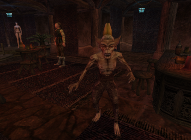 Lustidrike Companion Character for Morrowind Modding Madness