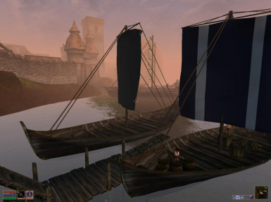 Arrival on Mainland Morrowind