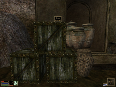 Owned crates of Balmora