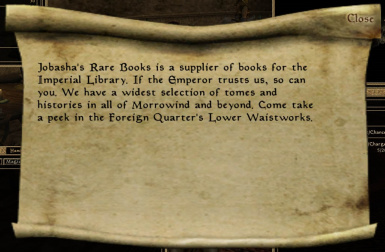 Jobashas Rare Books advertisement