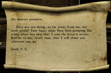 Uncle CC love letter