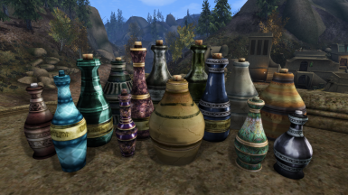 Ket's Potions and Beverages Retexture