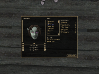 Female Dunmer Purple Eyes