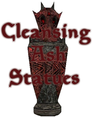 Cleansing Ash Statues