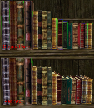 Books Resized