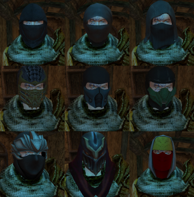 Ninja Masks Compilation
