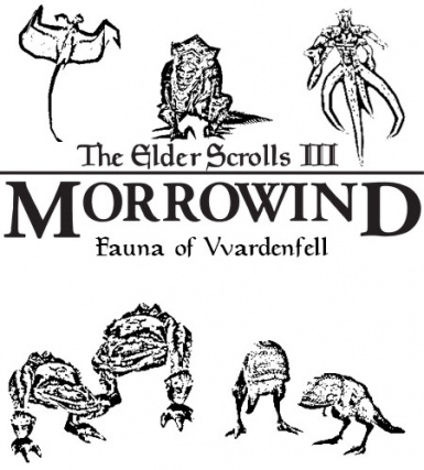 Fauna of Vvardenfell (Morrowind Bestiary Preview)