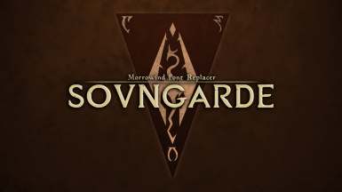 Sovngarde - Morrowind Font Replacer