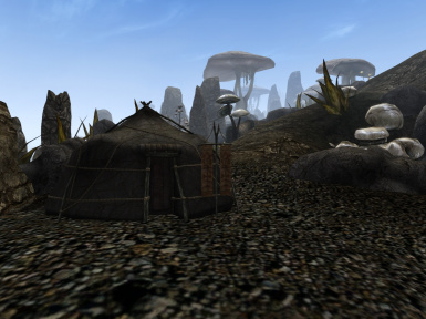 On the move - the Ashlander Tent Deluxe remod