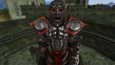 Daedric Lord Armor Face of God