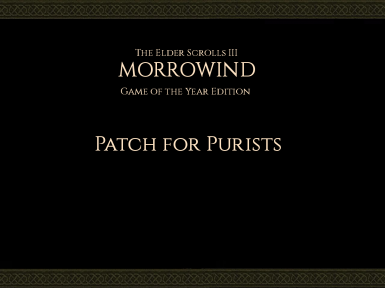 Patch for Purists