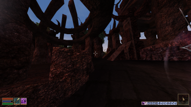 Daedric Ruins Bump Mapped For OpenMW