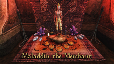Maladdin the Merchant