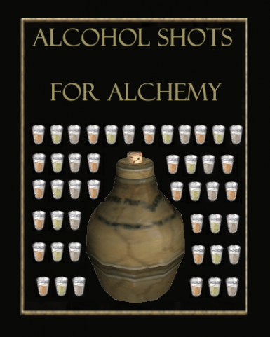 Alcohol Shots for Alchemy