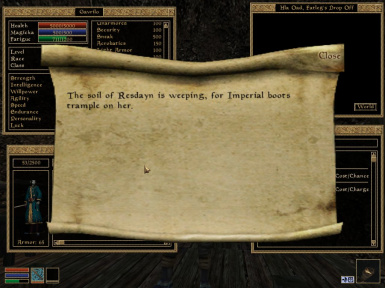 Liberate Morrowind - Chapter I