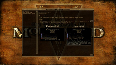 Mod Configuration Menu for flavor text (toggle lore requirement)