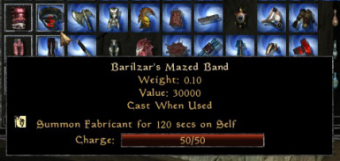 Barilzar's Mazed Band Expanded