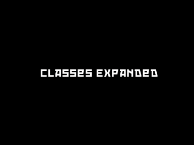 Classes Expanded Improved