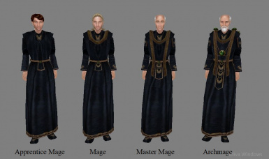 Antares' Mages Robes