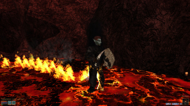 Lava Visual Damage (Ouch!)