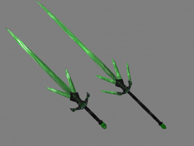 Glass sword and claymore replacer