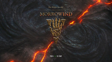 TES Online Morrowind Theme - Animated menu - menu music and Bethesda logo replacement