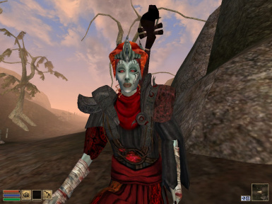 Playable Dark Elven Almalexia Head