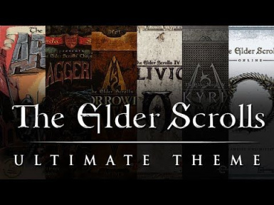 Main Menu music Replacer Elder Scrolls Complete Mashup By Riftley
