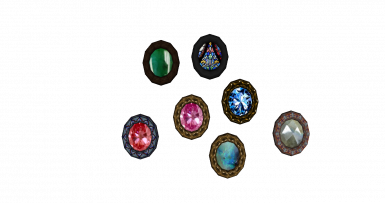 **the black patches on the gems are only present in the images above, the black patches do not appear in-game nor in the construction set, feel free to add screenshots to showcase on a better PC because I'd appreciate it**