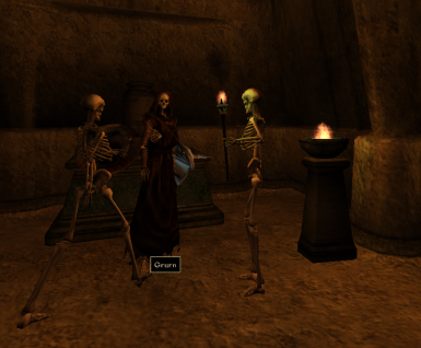 Just chillin with Grurn the evil lich