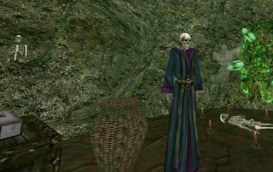 sick lich robes from mournhold