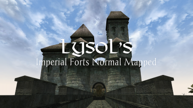 Imperial Forts Normal Mapped for OpenMW