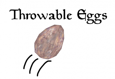 Throwable Eggs
