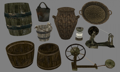 Rivetless barrel included in optional folder, the rest are in the base mod